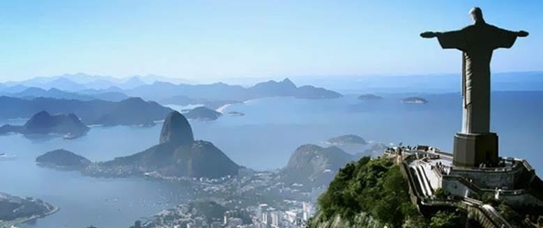 Os pontos turísticos mais visitados do Brasil
